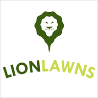 Lion Lawns Logo